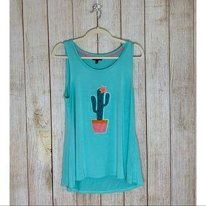 Cupio   Cactus Tank Top